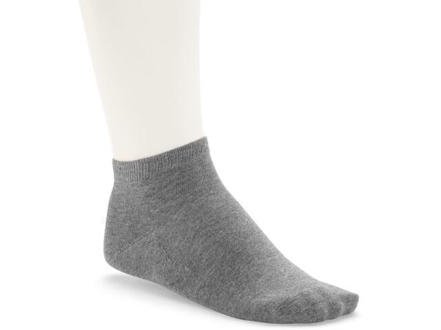Birkenstock Cotton Sole Sneaker Strømper Herrer, gray mel